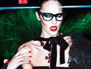 Candice Swanepoel Tom Ford Autumn-Winter 2011 collection, x5