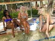 Лейси Швиммер, фото 219. Lacey Schwimmer hosts at REVEL pool party at Hard Rock Beach Club 06/08/'11, foto 219