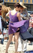 Джессика Строуп, фото 956. Jessica Stroup Filming '90210' on Redondo Beach in Los Angeles - 17.08.2011, foto 956