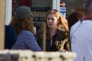 Amy Adams-On The Set of Man Of Steel August 15th 2011