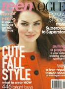 Emma Stone-Teen Vogue September 2011 Scans,Behind the Scenes and Outtakes