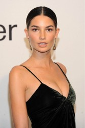 Lily Aldridge - Evening with Ralph Lauren hosted by Oprah Winfrey in NYC (24.10.2011)