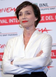 Кристин Скотт Томас, фото 63. Kristin Scott Thomas 'The Woman in the Fifth' Photocall at the International Rome Film Festival (30.10.2011), foto 63
