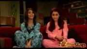 Victoria Justice and Ariana Grande in pyjamas