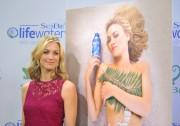 Ивонн Страховски, фото 595. Yvonne Strahovski - Unveiling her Sobe Lifewater Campaign in NY - 10 January, foto 595