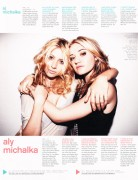 Aly and AJ Michalka-Nylon May 2010 Scan and Outtakes