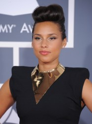 Алиша Киз (Алисия Кис), фото 3048. Alicia Keys 54th annual Grammy Awards - 12/02/2012 - Red Carpet, foto 3048