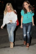 Эшли Тисдэйл, фото 7809. Ashley Tisdale March 1st Firefly Restaurant, foto 7809