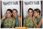 Shailene Woodley in a Photo Booth at 2012 Vanity Fair Oscar Party