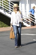 Джули Бенц, фото 1153. Julie Benz leaving Mauros Cafe in Melrose - March 3, 2012, foto 1153