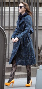 Лейгтон Мистер, фото 6853. Leighton Meester On the Set of 'Gossip Girl' in Manhattan - 05.03.2012, foto 6853