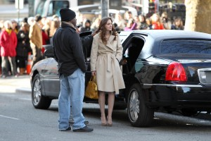 Лейгтон Мистер, фото 6862. Leighton Meester On the Set of 'Gossip Girl' in Manhattan - 05.03.2012, foto 6862