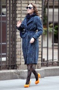 Лейгтон Мистер, фото 6852. Leighton Meester On the Set of 'Gossip Girl' in Manhattan - 05.03.2012, foto 6852