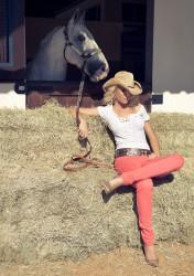 Ана Хайкмэн, фото 300. Ana Hickmann Equus Jeans Style 2012 Campaign, foto 300