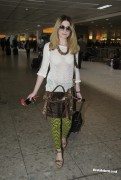 Nicola Roberts arriving at Heathrow Airport 20th March x11