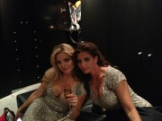 Charisma Carpenter - Twitter Pictures from Julie Benz's Wedding 05-06-2012
