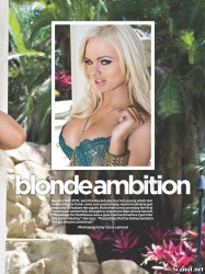 Alexis Ford Penthouse USA Junio 2012