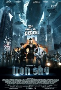 Download Iron Sky (2012) LiMiTED BluRay 720p 600MB Ganool